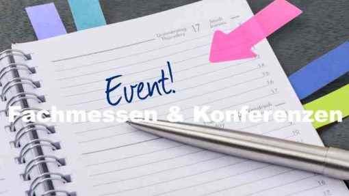 Eventmanagement, Organisation von Fachmessen, Veranstaltung von Konferenzen für IT und Software Hersteller