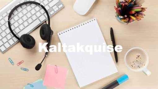 B2B Kaltakquise, Kaltakquise für IT Unternehmen, Telefonische Kaltakquise, Telefonakquise