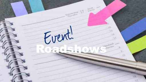Eventmanagement, Eventorganisation, Organisation von Roadshows