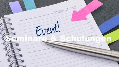 Eventmanagement und Eventorganisation von Seminaren und Schulungen für IT