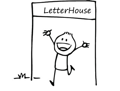 LetterHouse Kontakt, Kontaktformular, Anfrage, Kontaktdaten